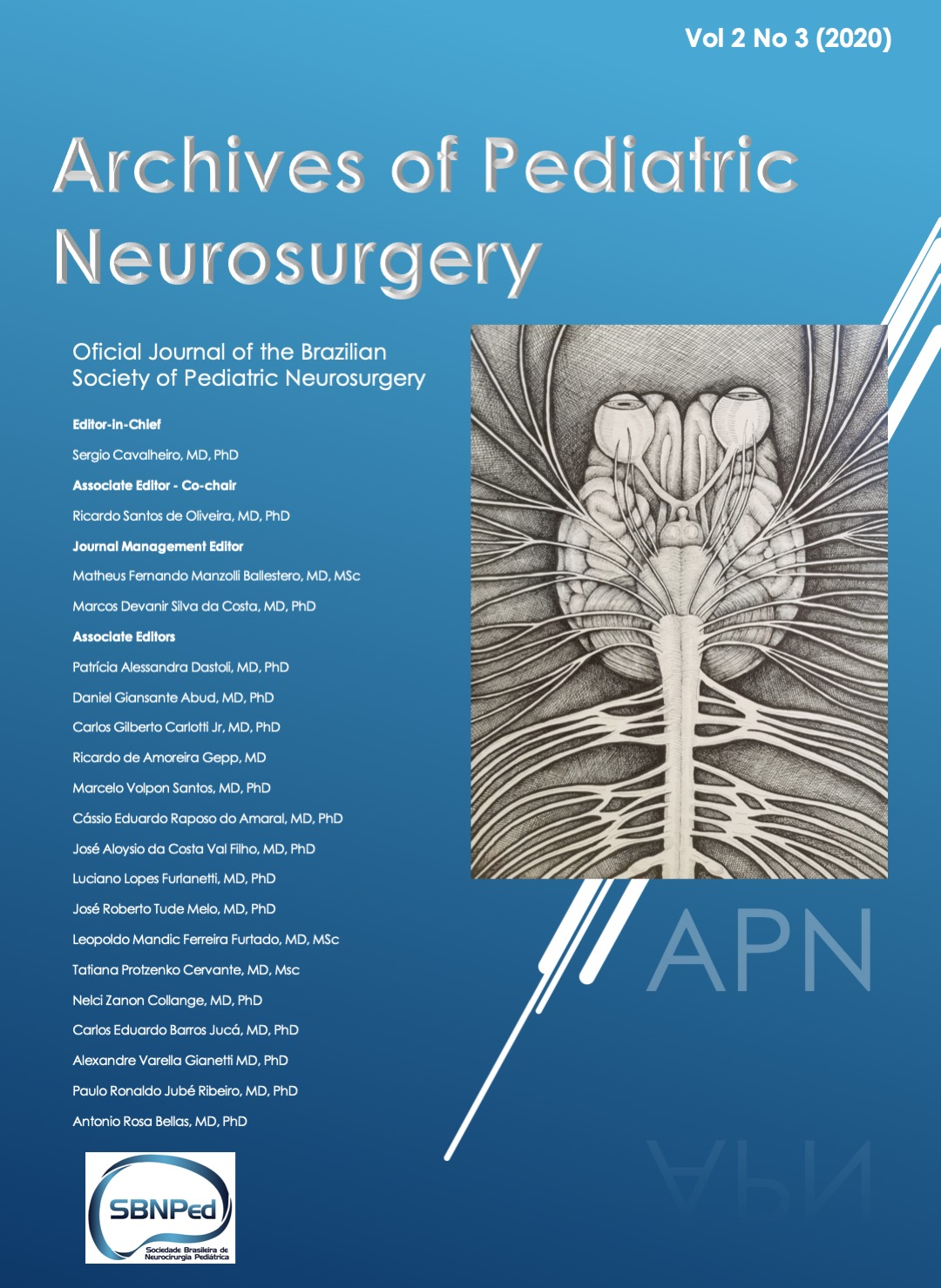 Nova edição da Archives of Pediatric Neurosurgery